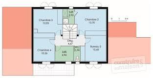plan etage 4 chambres maison du sud dé du plan de maison du sud faire construire