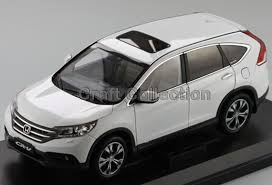 diecast honda crv white 1 18 honda cr v crv suv 2012 collectable diecast model car