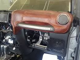 jeep wrangler custom dashboard custom jeep wrangler interior seats dashboard center console