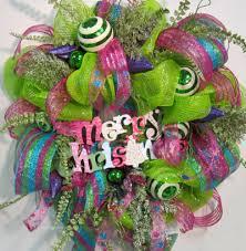 deco mesh ribbon deco mesh do you like it well i didn t at ladybug wreaths