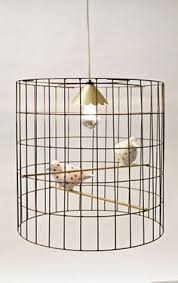 Diy Birdcage Chandelier Great Instructions For Making A Birdcage Lamp Could Go For Paper