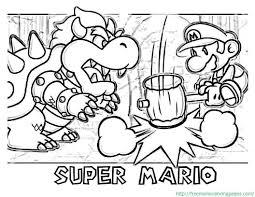 collection mario coloring pages mario fans