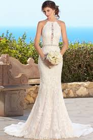 lace wedding dresses uk sleeveless lace trumpet mermaid diamond court halter lace