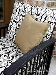 cushion waterproof outdoor cushions patio cushion covers
