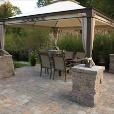 Backyard Paver Patios 2018 Brick Paver Costs Price To Install Brick Pavers Patios