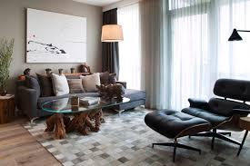 Custom Fabric Ottoman by Coffee Table Fascinating Round Wood Design Ideas Custom Fabric