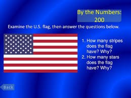 How Many Stripes Are On The Us Flag Civics Jeopardy Final Jeopardy Ppt Download