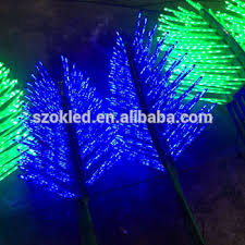 sale led artificial led coconut palm tree light