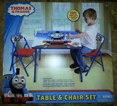 thomas the train activity table and chairs vintage set kids toys thomas train tank engine fuzzy felt set 50