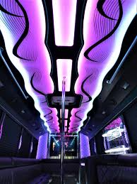 lamborghini limo inside exquisite limousine premier chicago party bus rentals