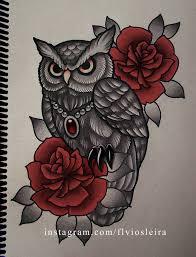 roses owl by frah on deviantart