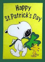 peanuts s day snoopy y el día de san patricio snoopy and st s day