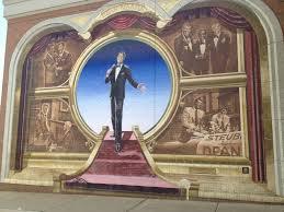 huge dean marin mural on a kroger store in steubenville ohio huge dean marin mural on a kroger store in steubenville ohio