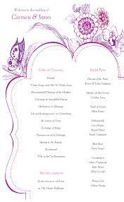 Diy Wedding Program Templates Wedding Program Back Side