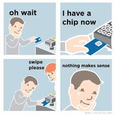 Self Checkout Meme - is your retailer suffering from chip pin dysfunction cpd