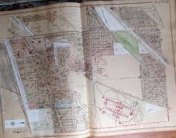 Toledo Map 1930 Harvard Terrace Walbridge Zoo Toledo State Hospital Toledo