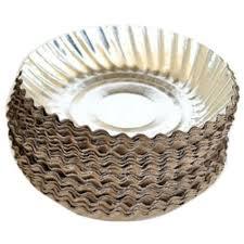 paper plates wrinkled paper plates paper plate sanjay handicrafts aligarh