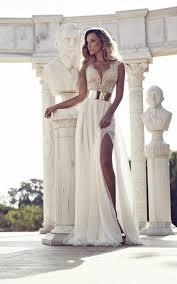 Greek Style Wedding Dresses Ancient Greek Wedding Dresses Weddings In Paros