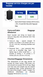 100 united airline international baggage airport guide