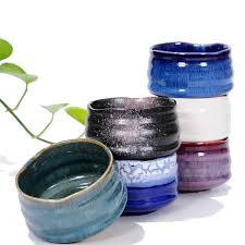 bicchieri in ceramica coarse ceramica tazza di t礙 creativa vaso di fiori retr祺 fatti a