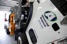 advanced disposal corporate office truck cab open in maintenance advanced disposal office photo