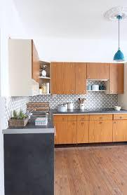 carreau cuisine cuisine carreaux ciment 12 photos de cuisines tendance côté maison