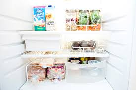 how to make your fridge look like a cabinet slacker friendly organizing smart storage solutions to pimp your