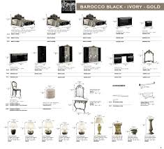 names of furniture bathroom furniture names best of barocco black w gold camelgroup