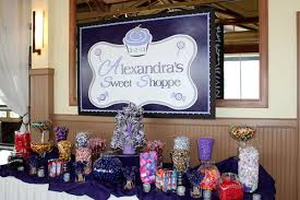 Candy Buffet Table Ideas 30 Candy Theme Party Ideas Bat Mitzvah Sweet 16 Or Wedding