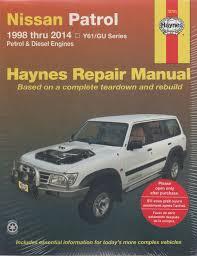 nissan patrol y61 gu petrol diesel 1998 2014 haynes service repair