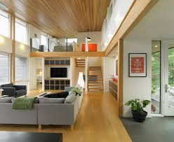 cadet grey living room contemporary with wood ceiling chrome