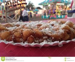 funnel cake fun fair food stock image image of food 45878941
