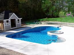beautiful swimming pool design with glass mosaic tiles home