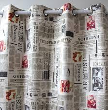 aliexpress com buy new arrival suede printed newspaper window