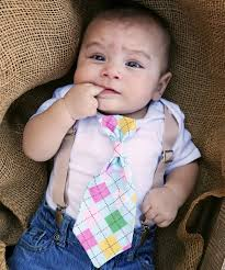 Easter Clothes For Baby Boy Newborn Boy Easter With Tan Suspenders And Argyle Neck Tie