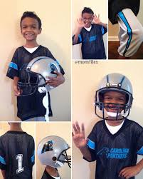 football player halloween costume for kids dress your kid like an nfl pro for halloween momfiles com