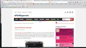 tool reset printer canon ip2770 canon ip2770 drivers free download youtube