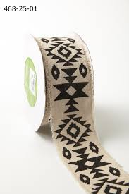 aztec ribbon 2 5 inch ribbon wide ribbons by width may arts