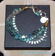 beaded bracelet ebay images Sterling silver bracelets ebay new silpada quartz kyanite brass jpg