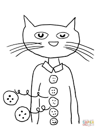 pete the cat coloring page funycoloring