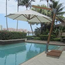 Palm Tree Patio Umbrella Outdoor Patio Side Post Cantilever Umbrellas