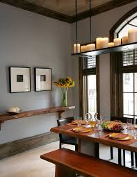Rustic Shelf Dining Room Contemporary With Wall Shelves Wall - Dining room wall shelves
