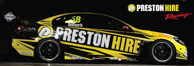 holden racing team logo preston hire racing