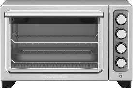 Toaster Ovens Rated Kitchenaid Kco253cu Convection Toaster Pizza Oven Silver Kco253cu