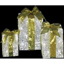 pre lit christmas gift boxes outdoor christmas decorations pre lit gift boxes for outdoor