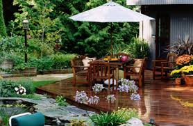 Ideas For Garden Furniture by Unique Patio Deck Decorating Ideas Of 17 D Inside
