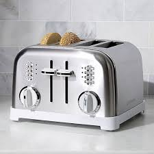 4 Slice Toasters On Sale Cuisinart Stainless Steel Toaster Crate And Barrel