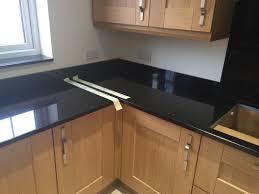 granite countertop cream kitchens with black worktops quick easy