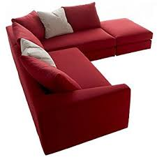 Red Corner Sofa by Red Hoxton Fabric Corner Sofa Small X Small Corner Unit Arms On