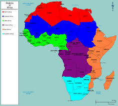 Benin Africa Map by Map Of Africa Regions Deboomfotografie